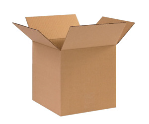 100 8x6x6 Cardboard Paper Boxes Mailing Packing Shipping Box Corrugated Carton