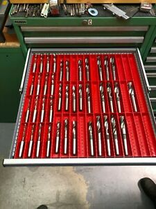 Jig Bore Hss Drills Set Approx 1 4 To 1 For Sip Or Hauser Machines