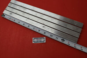 4 Pieces 1 2 X 3 4 Aluminum 6061 Flat Bar 14 Long Solid Extruded Mill Stock