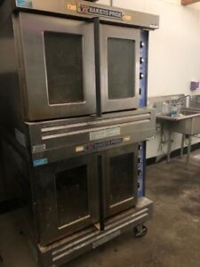 Bakers Pride Industrial Electric Ovens Stacked