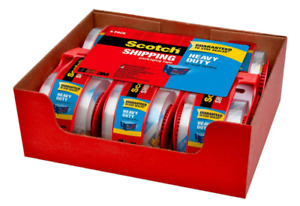 Scotch 1 88 Inches X 800 Inches Heavy Duty Shipping Packaging Tape free