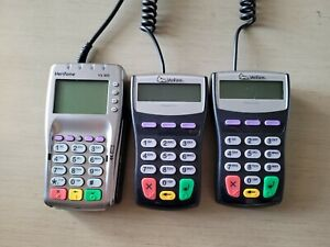lot Of 3 Verifone Vx805 2x Verifone Pinpad 1000 Se With Cable tested