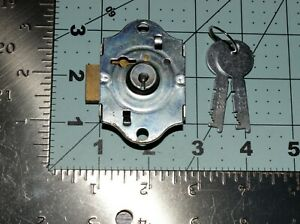 Replacement Eagle File Record Cabinet Desk Drawer Lock With 2 Flat Keys 22y12