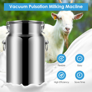 14l Rechargeable Electric Sheep Goat Milking Machine Vacuum Pump Stainless Milke