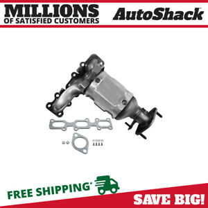 Front Exhaust Manifold Catalytic Converter W Gaskets For Ford Explorer Taurus