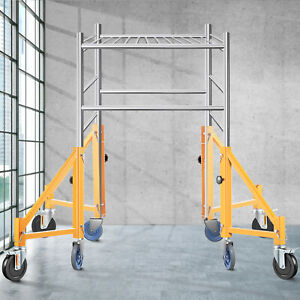 Vevor 18 Inch Scaffolding Outriggers With Casters 4 Piece Set