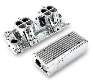 7540p Weiand Stealth Ram Intake Chevy Small Block V8