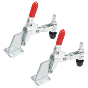 Toggle Clamp Vertical Quick release Hand Tool 185kg 407lbs Capacity 2pcs