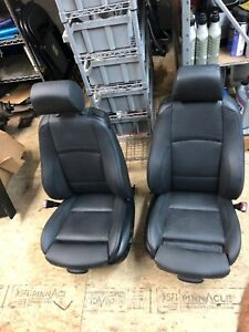 Bmw E92 3 series Coupe Leather Sport Seats Power Black