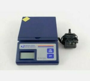 Usps Ten Pound Electronic Postal Commerce Scale Battery Ac Adapter Power 10 Lb