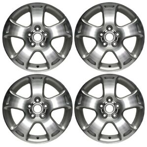 New Set Of 4 16 X 6 5 Replacement Wheel Rim For 2006 2007 Chevrolet Hhr