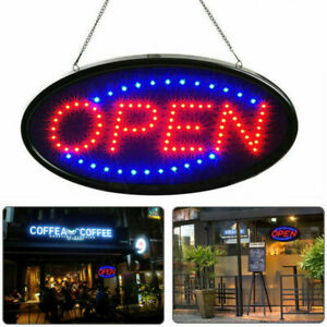 Animated Motion Ultra Bright Open Business Sign Store Led Neon Light With On of