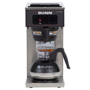 Bunn Vp17 1 12 cup Low Profile Pourover Commercial Coffee Maker 1 Warmer 1330