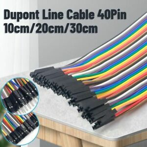 Jumper Wire Dupont Cable Male Female Male Female Female For Arduino Diy Kit