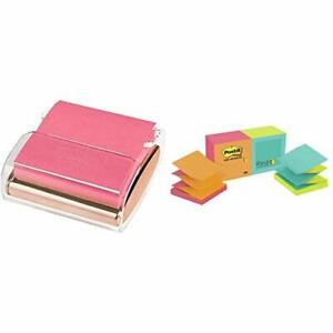 Post it Pop up Note Dispenser 3x3 In 1 Dispenser pack Pop up Notes 3x3 In