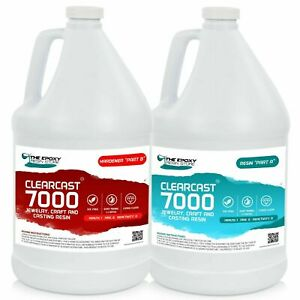 Clearcast 7000 Clear Epoxy Resin Gallon Kit Free Shipping
