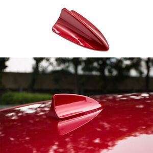 Shark Fin Antenna Receiver Cover Trim 1pcs Fit For Mazda 6 Atenza 2017 2019 Red