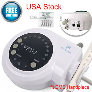 Dental Scaler Ultrasonic Scaling Perio Fit Woodpecker Handpiece Tooth Cleaner Gl
