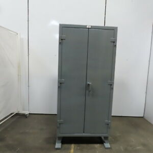 Strong Hold 36 244g 4 Shelf Industrial Tool Parts Storage Cabinet 36x24x78