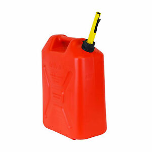 Scepter Fg4rvd5 5 3 Gallon Rv Diesel Military Style Jerry Gasoline Can Red