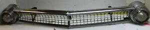 Used Oem Ford Grille W Lights 1955 Fairlane G131sr Fits 1955 Ford