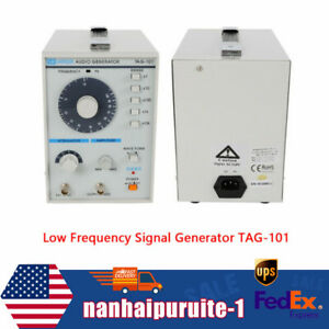 10hz 1mhz Low Frequency Audio Signal Generator Signal Source W power Cord Clip