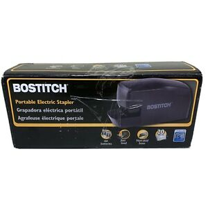Nib Bostitch Portable Electric Stapler Mds20 blk Free Shipping New Open Box