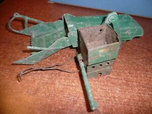 Vintage Farm Implement Toy Parts Marx Tractor Cattle Chute Combine Loader