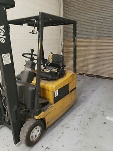 Yale Erp030tg 3000 Lbs Capacity Great 3 Wheel Electric Forklift With Charger