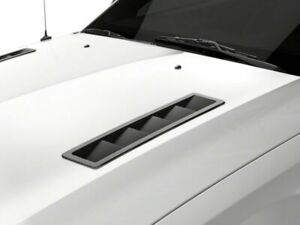 Mmd Hood Vent Louvers In Matte Black Fits Ford Mustang 2005 2012 Gt V6