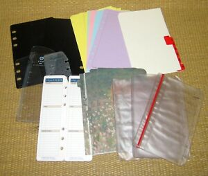 Franklin Covey Compact Accessories Pack W Dividers Page Lifter Card Holders