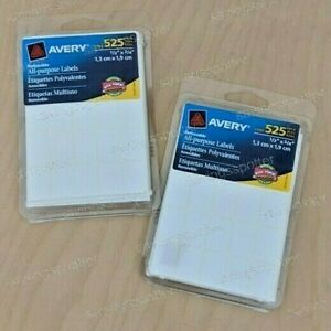 1050 Avery Removable All purpose Labels 1 2 X 3 4 White Price Pricing Multi use