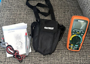 New Extech Ex530 True Rms Heavy Duty Industrial Multimeter Used Once Euc
