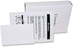 Cr80 Cleaning Cards Dual Side Card Reader Cleaner Pos Swipe Terminal Cleaning