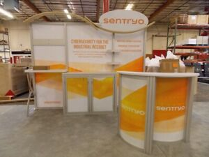 Classic Exhibits Ecosystems Eco 1044 10x10 10x8 Trade Show Display Booth