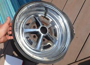 Vintage Magnum 500 Wheel 14x6 Gm 5 On 4 75 Direct Bolt Chevy Buick Olds Pontiac