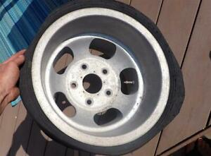 15x10 Us Indy Mag Slotted Aluminum Wheel 5 On 5 5 Pattern Ford Truck Bronco Jeep