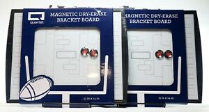 Lot Of 2 quartet Dry Erase Bracket Board With Built In Portable Easel 11 x14