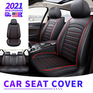 Full Set Car Seat Covers Leather For 2007 2021 Chevy Silverado Gmc Sierra 1500
