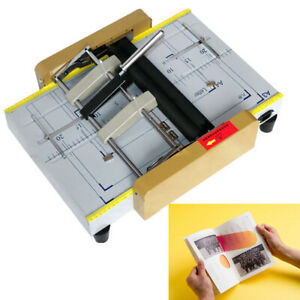 New A3 Booklet Making Machine Paper Bookbinding folding Machine Booklet Stapling