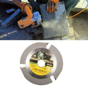 5 Inch 125mm Angle Grinder Cutting Disc Wood Saw Blade Carving Tool 3t Circular