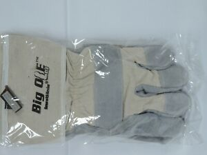Global Glove Big Ole Split Leather Palm Canvas Back With Kevlar XL 5 Pairs $45.00