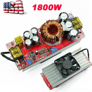 1800w Dc dc Electric Vehicle Boost Converter Constant Current Boost Power Module