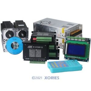 Cnc Kit 4 Axis Tb6600hg Motor Driver With 2 5nm Nema23 Stepper Motor For Router