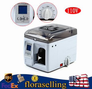 Banknote Counter Automatic Currency Binding Machine Money Bundle Cash Packer New
