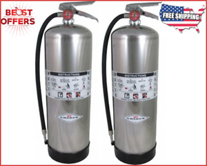 Sale Set Fire Extinguisher 2a Water 2 5 Gal 2 Packs Free Shipping