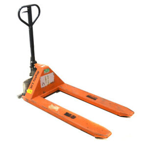 Mighty Lift Hl33 High Lift Pallet Jack 27 X 45 For Open bottom Pallets Or Skid