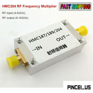 Hmc204 Rf Frequency Multiplier Frequency Doubler With Shell Rf Input 4 8ghz Pe66