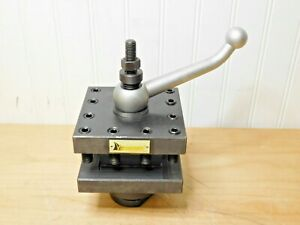 Interstate Square Indexing Turret Tool Post 13 To 20 Lathe Swing Etp hd412