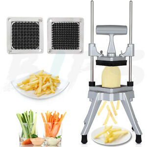 1 4 French Fry Cutter Vegetable Chopper Onion Tomato Slicer Commercial